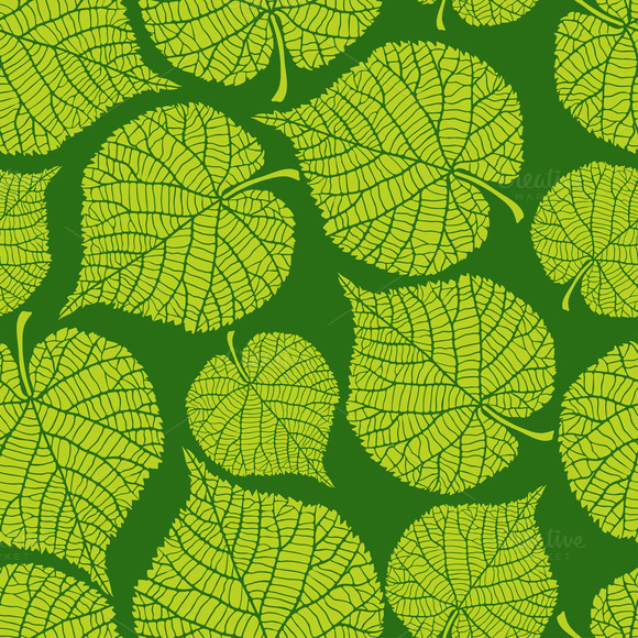 Patterns With Green Leaves