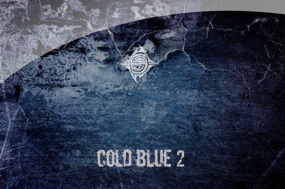 30 Textures Cold Blue 2