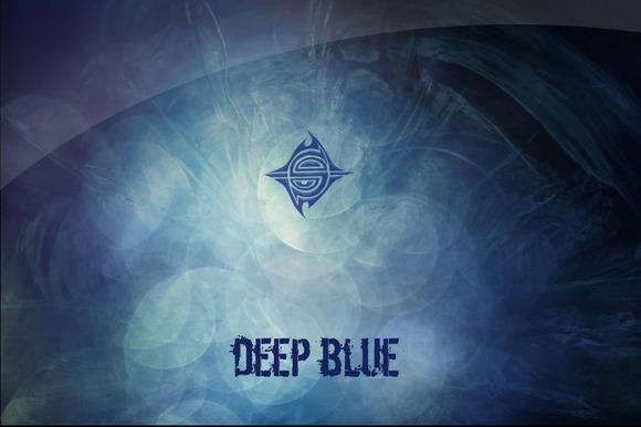 10 Textures Deep Blue
