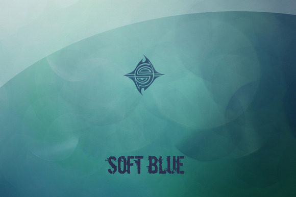 10 Textures Soft Blue