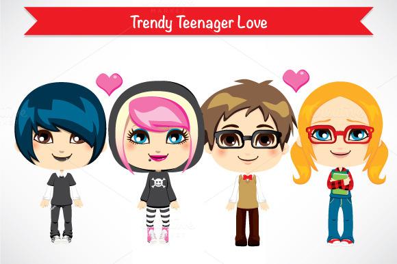 Trendy Teenager Love