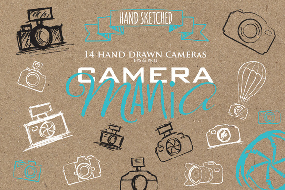 Sketched Cameras Make Your Own Logo