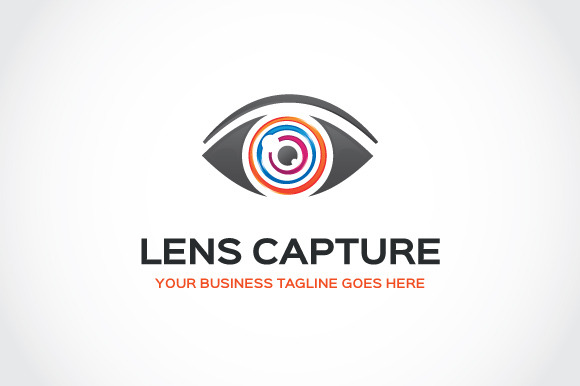 Lens Capture Logo Template