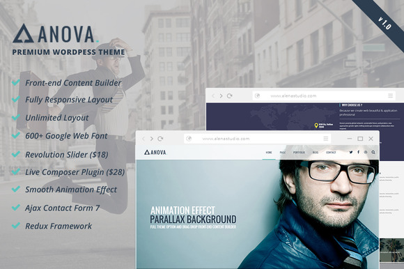 Anova Multipurpose WordPress Theme