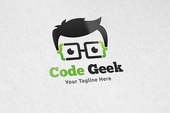 Code Geek Logo Template