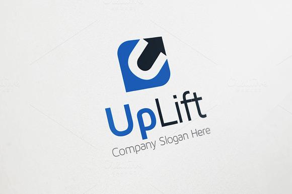 Up Arrow Logo U Logo