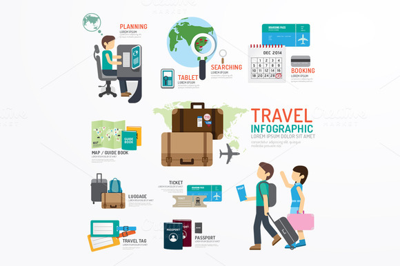 World Travel Business Template