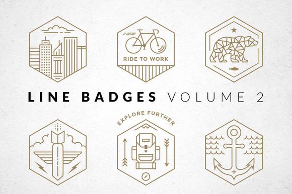 Line Badges Volume 2