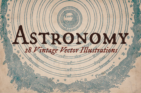 Vintage Astonomy Illustrations