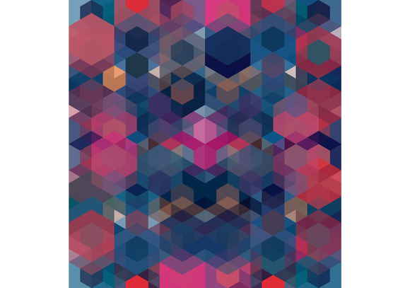 Colorful Hexagon Pattern