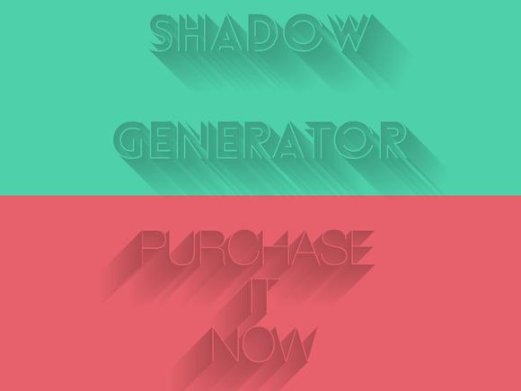 LongLeft Right Shadow Generator