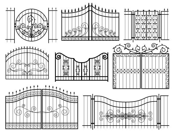 Iron Gates Icons