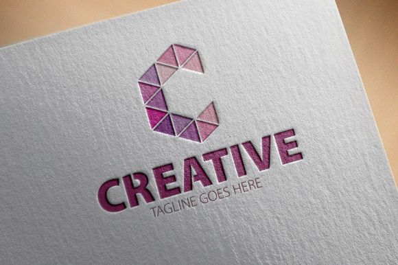 Creative C Letter Logo