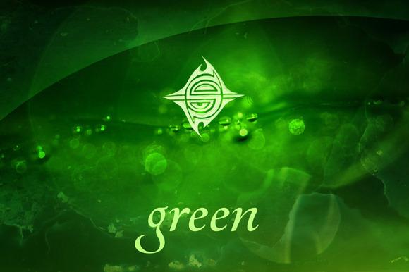 15 Textures Green