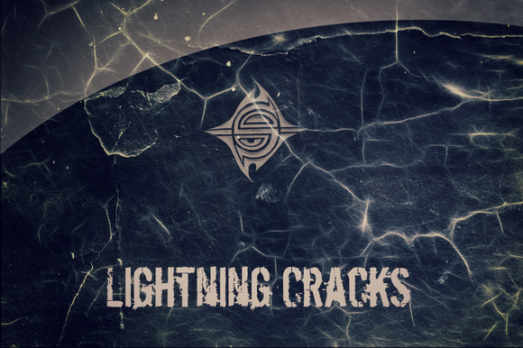10 Textures Lightning Cracks
