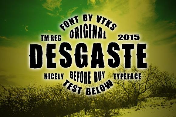 Desgaste Font