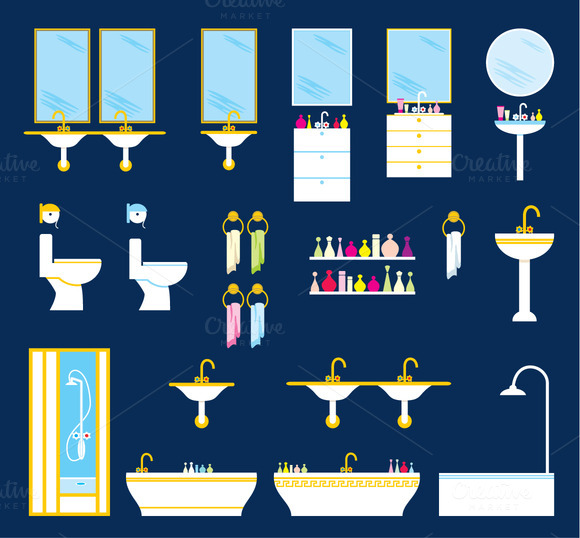 Bathroom Equipment Set