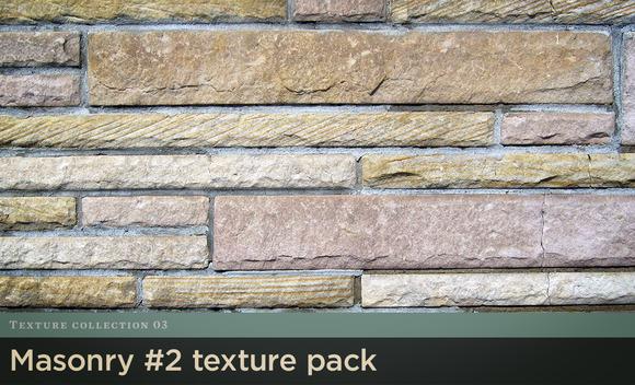 Masonry Texture Pack 2