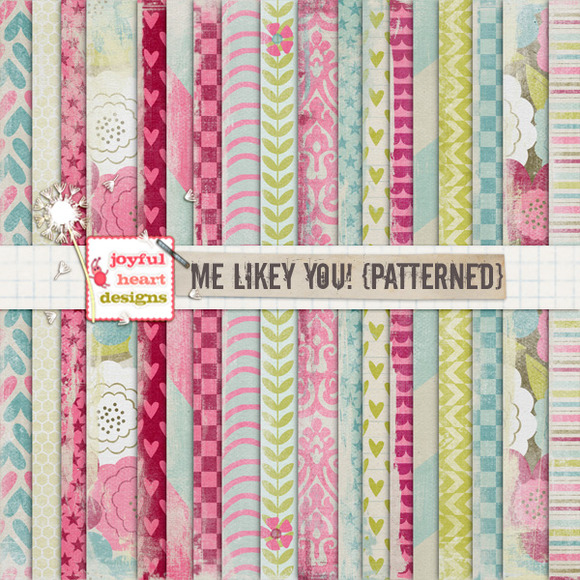 Me Likey You {patterned} 20% Off