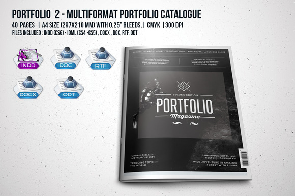Portfolio 2 Multiformat Catalogue
