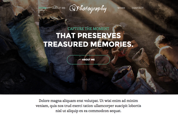 Photography Responsive Template