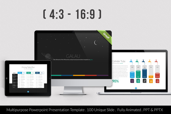 Galau Powerpoint Template