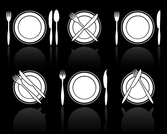 Fork Knife And Spoon Icons