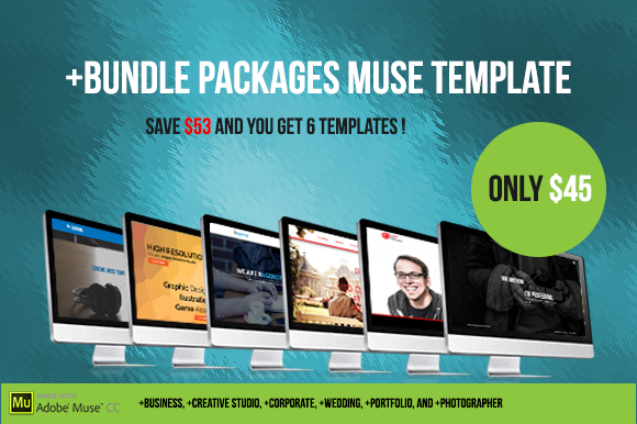 Bundle Packages Muse Template