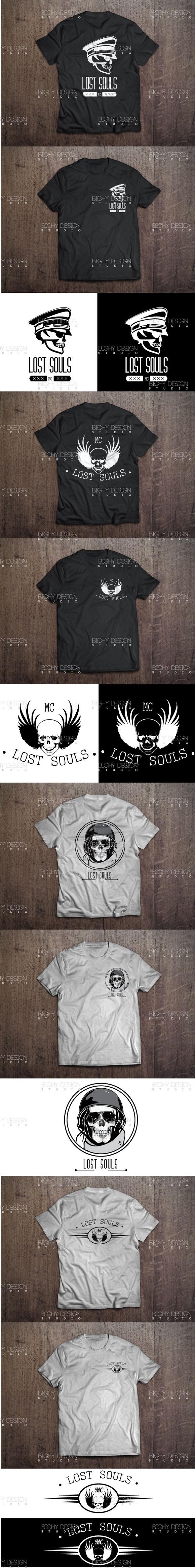 Skulls Logo Design Vol 1