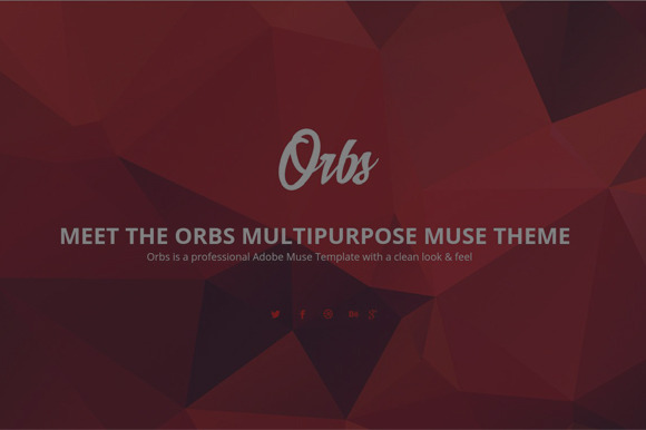 Orbs Muse Template