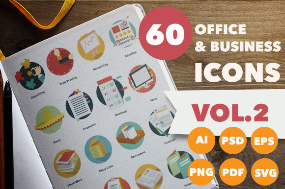 Office Business Icons Vol-2
