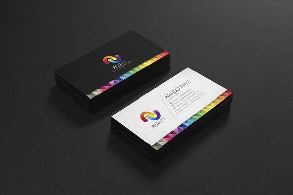 Reality Corporate Business Card