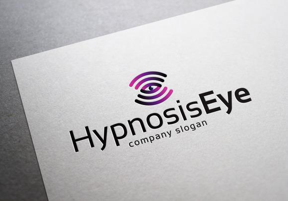 Hypnosis Eye Logo