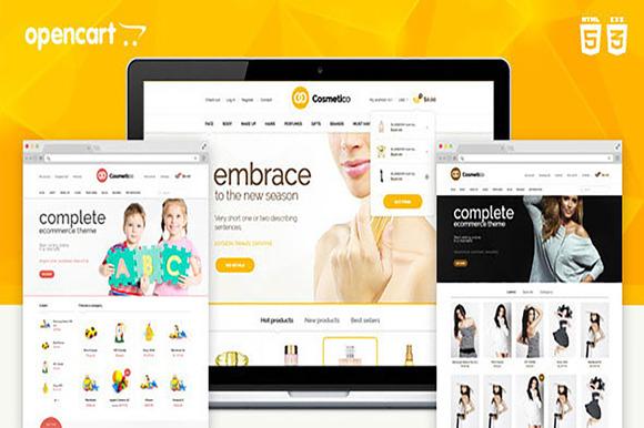 Cosmetico Responsive OpenCart