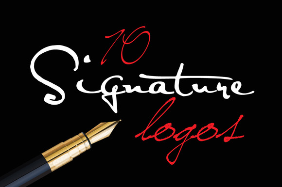 Signature Logo Bundle 50% OFF