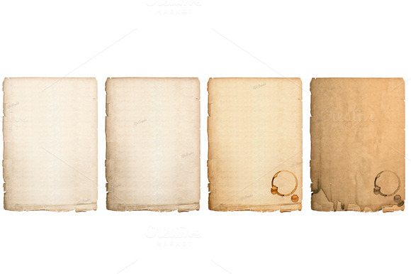Aged Paper Sheets