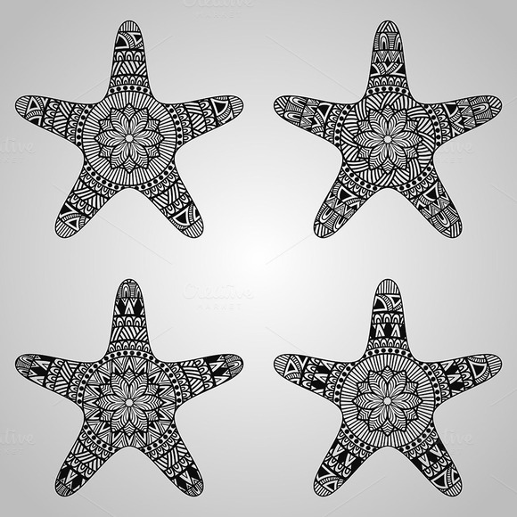 Vector Star Collection