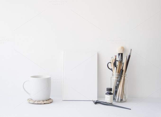 Styled Photography Mug Notebook