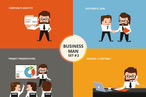 Businessman Set #2