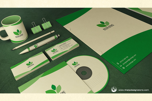 Green Ecologic Corporate Identity