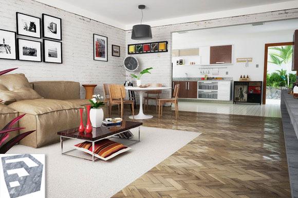 Model Living Room A86