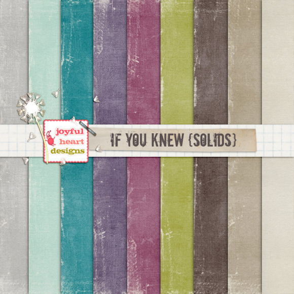 If You Knew {solids} 20% Off