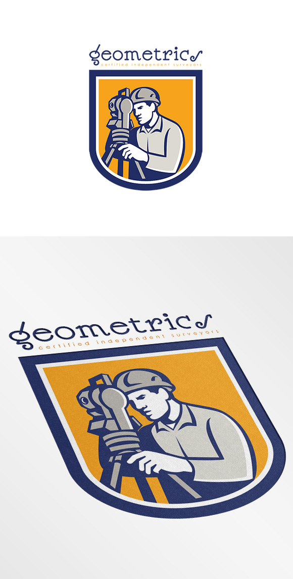 Geometrics Independent Surveyor Logo