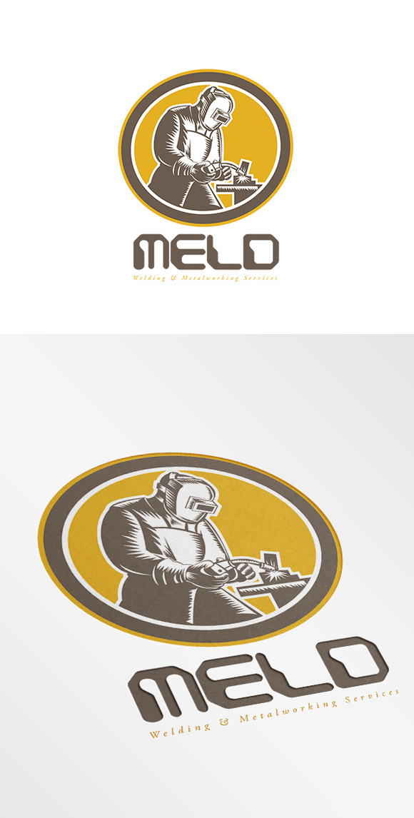 Meld Welding And Metalworks Logo