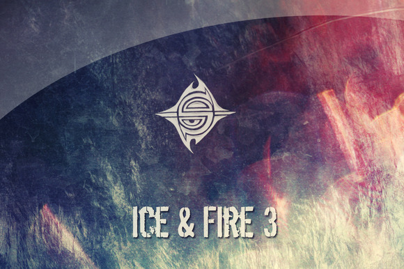 15 Textures Ice Fire 3
