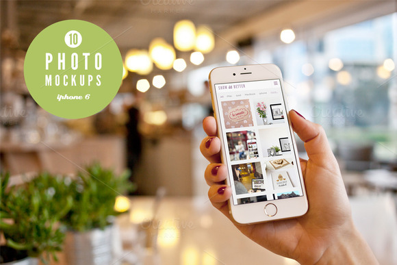 IPhone 6 10 Photo Mockups