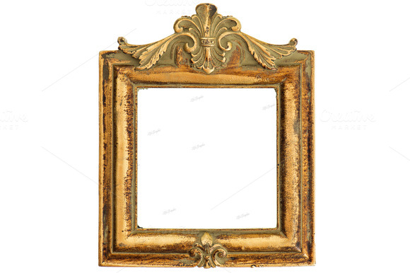 Vintage Style Antique Golden Frame