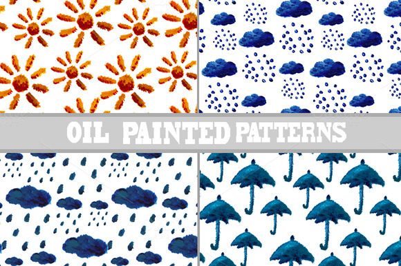 Oil Painted Patterns