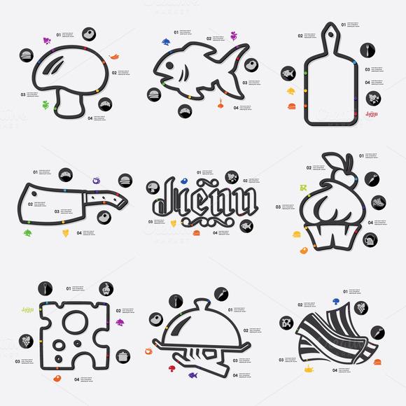 9 Restaurant Infographics