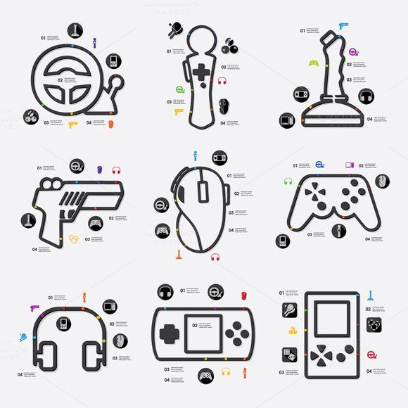 9 Game Infographics